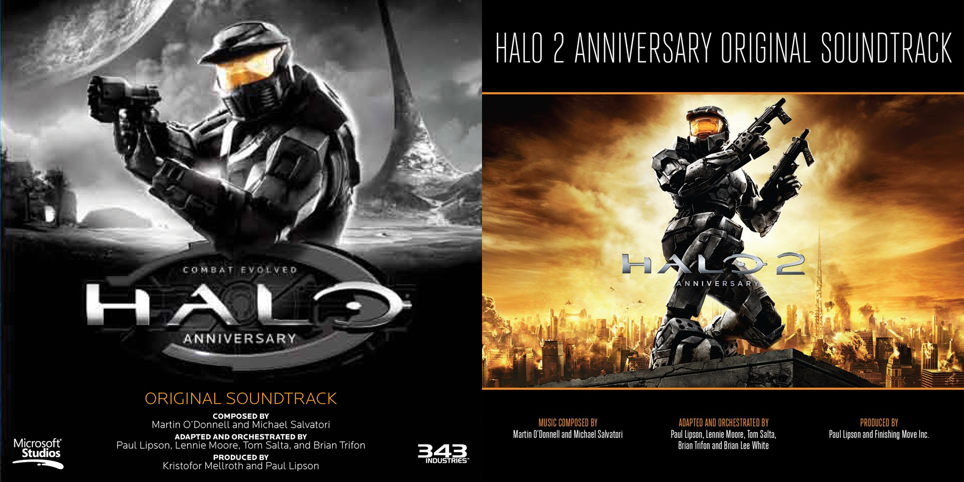 image of Halo Anniversary CD booklets